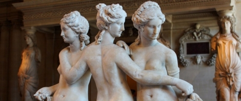 Three Graces in the Louvre, Paris
